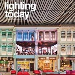 Vicarage Gate House featured in Lighting Today Singapore