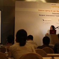 Ana Stojadinovic delivers keynote lecture at Thailand Lighting Fair 2016
